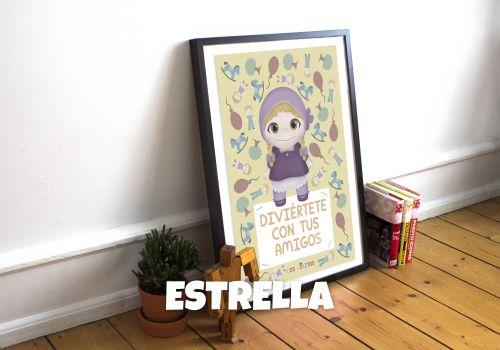 LÁMINA DE ESTRELLA