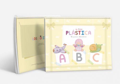 Cuaderno de plástica «ABC Mi primer abecedario»