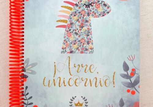 Libreta Unicornio